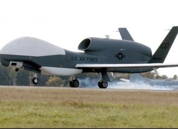 Air Defense Base Drives Away US Drone