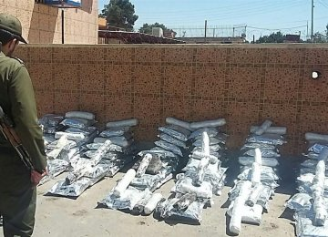 Police Seize  2.4 Tons of Illicit Drugs