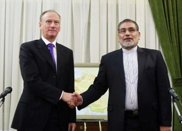 Iranian, Russian Security Chiefs Discuss Syria Coop.