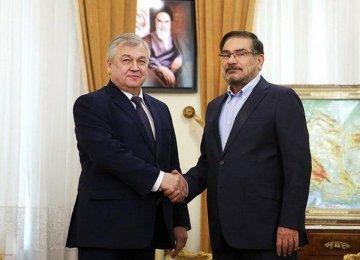 Russian Envoy Arrives for Syria Talks