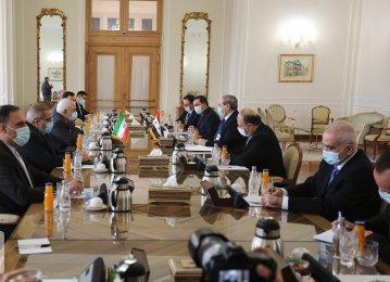 Iranian, Syrian FMs Hold Talks in Tehran