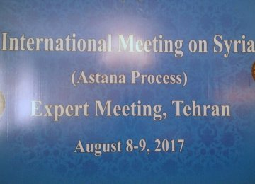 Syria Expert Talks Begin in Tehran