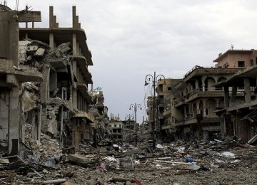 MP Refers to Post-War Reconstruction in Syria