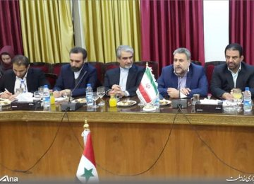 Parliamentary Delegation in Syria