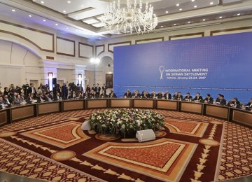 Iran to Attend Astana Talks on Syria