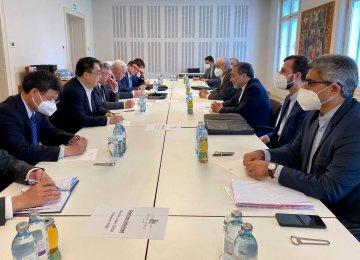 Vienna Talks Focused on Sticking Points