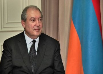 Envoy Confers With President of Armenia