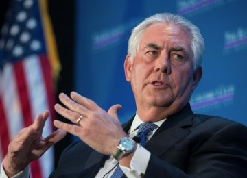 Tillerson at Odds With Trump on Nuclear Deal
