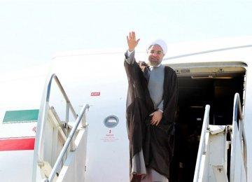Rouhani Visiting Oman, Kuwait