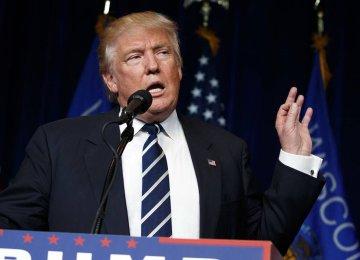 Trump Urges Arab Front to Counter Iran