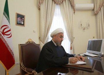 Rouhani Congratulates Erdogan on Landslide Victory