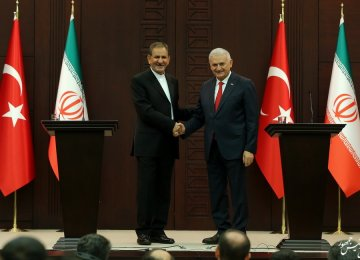 Turkey Pleased by Improved Security Cooperation With Iran