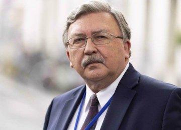 Ulyanov: Iran's Demand for US Guarantee on JCPOA Logical
