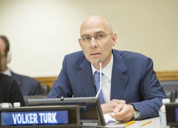 UNHCR's Volker Türk Arrives