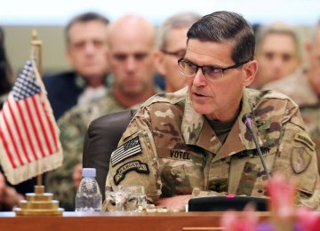 Top General: US Not Seeking War With Iran