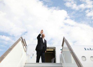 Zarif in Turkey for D-8 Meeting