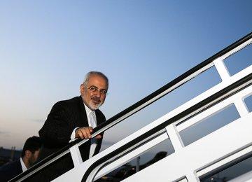 Zarif Visiting India