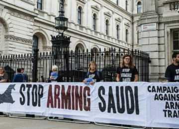 The UK government has licensed more than £4.6b ($6.3b) worth of arms sales to Saudi Arabia  since the bombing began in Yemen, according to CAAT.