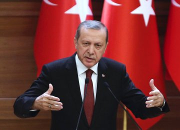 Erdogan Holds Out Olive Branch to EU