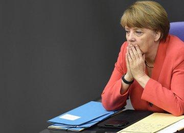 "News magazine Der Spiegel called the breakdown in negotiations a ""catastrophe"" for Merkel."