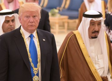 Saudi Arabia's position poses a potential problem for the United States, which has strengthened ties with the kingdom under Trump.