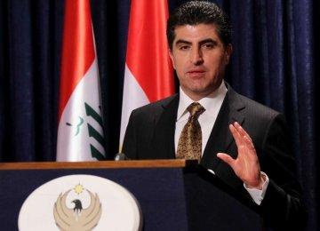 Barzani Departs, Leaving Nephew With Hard Part