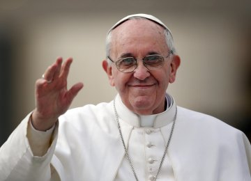 Pope Urges EU to Rediscover Unity