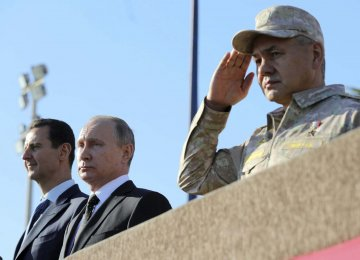 Russia Will Keep Bases in Syria to Strike at Terrorists
