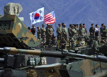 US Drills in South Korea Trigger Nuclear War Warning From North