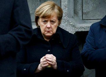 Support Slides for Merkel to Serve Full Term