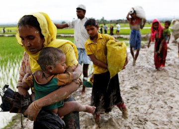 A campaign of killings, rape and arson attacks by Myanmar's army have sent more than 850,000 of the country's 1.3 million Rohingya fleeing.