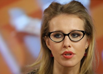 Sobchak Ready to Withdraw From Russia Election