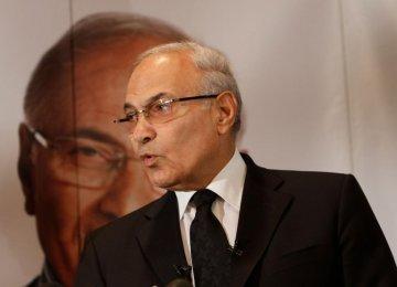 UAE Gov't Deports Egypt Presidential Hopeful Shafiq