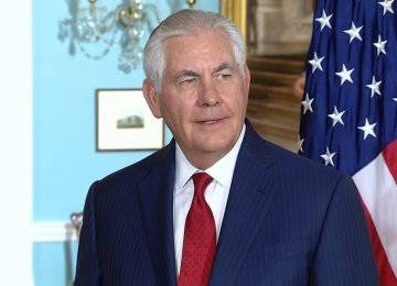 Tillerson Says No Normalization  of NATO Relations With Russia