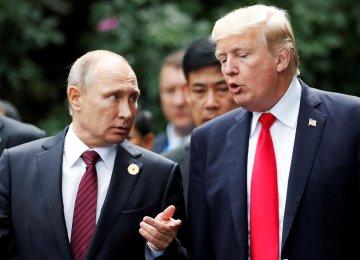 Putin, Trump Agree on Syria at Brief Meeting in Vietnam
