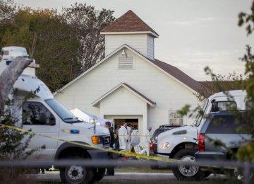 Gunman Kills 26 in  South Texas Church