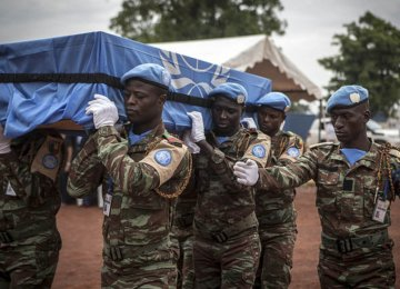 Large Number of UN Peacekeepers Killed in Congo