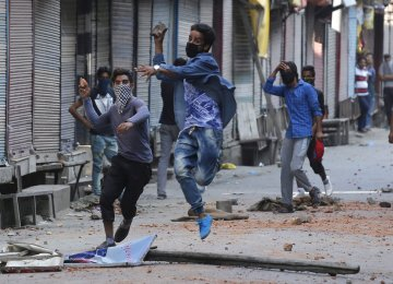 Fierce Fighting in Kashmir