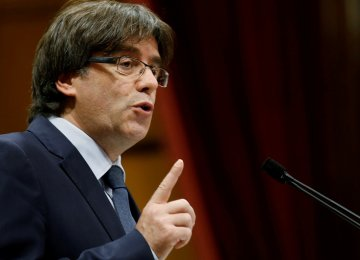 Puigdemont  Blasts Spain