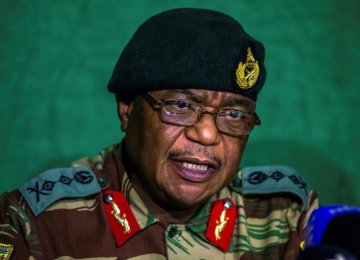 Zimbabwe's Ex-Army Chief Named Ruling Party VP