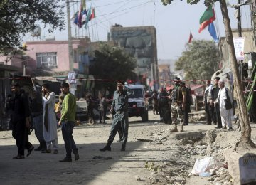 15 Dead in Suicide Attack on Afghan Funeral
