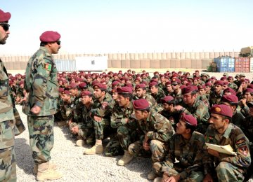 The US has about 14,000 troops in Afghanistan to train, advise and assist Afghan troops in their fight against the Taliban.