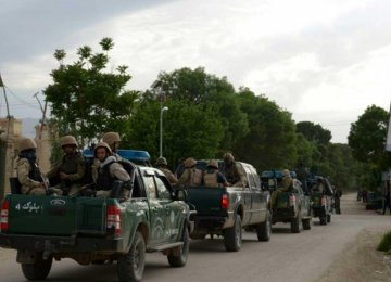 18 Afghan Soldiers Killed Fighting in Western Province