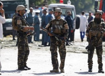 Taliban Suicide Bomber Kills Dozens in Kabul