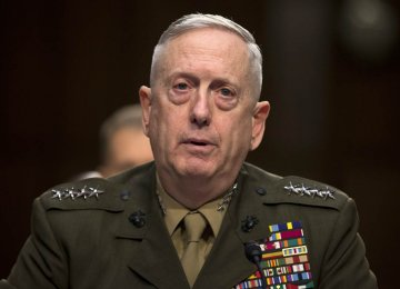 Mattis:  Decision Closer on Afghanistan Strategy