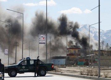 Taliban Suicide Bomber Kills 7  in Helmand