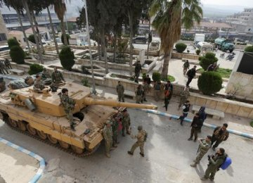 Turkey Forces Seize Syrian Town of Afrin