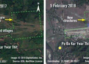 Amnesty International: Myanmar Erects Security Posts on Burned Rohingya Land