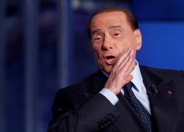 Berlusconi: Italy Cannot Leave Euro, Coalition Ally Disagrees