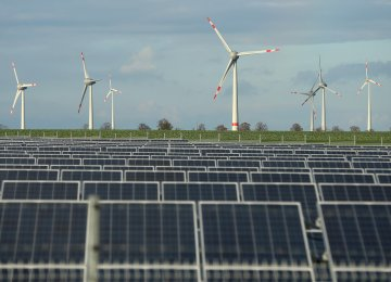 Renewables to Be World's Main Source of Power